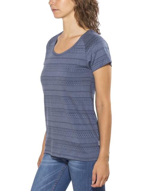 Elkline Marbella - T-shirt manches courtes Femme - bleu